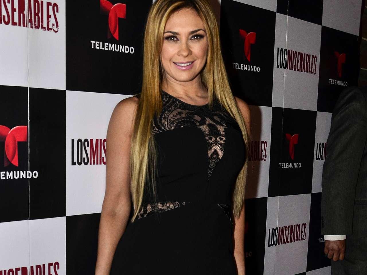 Aracely Arámbula terminó recientemente su participación en 'Los Miserables', telenovela de Telemundo. Foto: Medios y Media