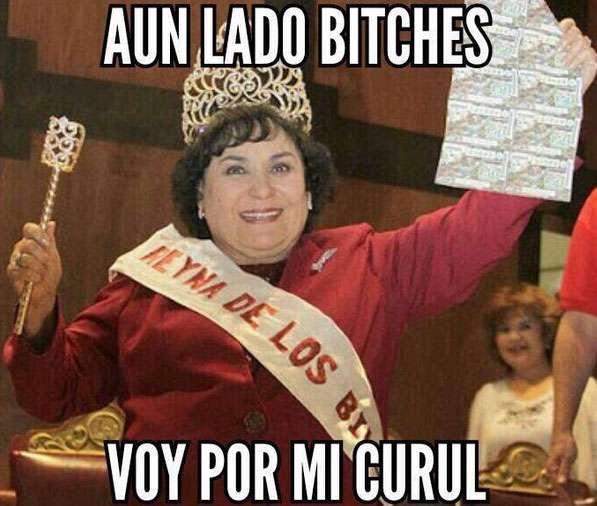 Carmen Salinas causa furor en redes Foto: Twitter / @CiudaDanaMtySur