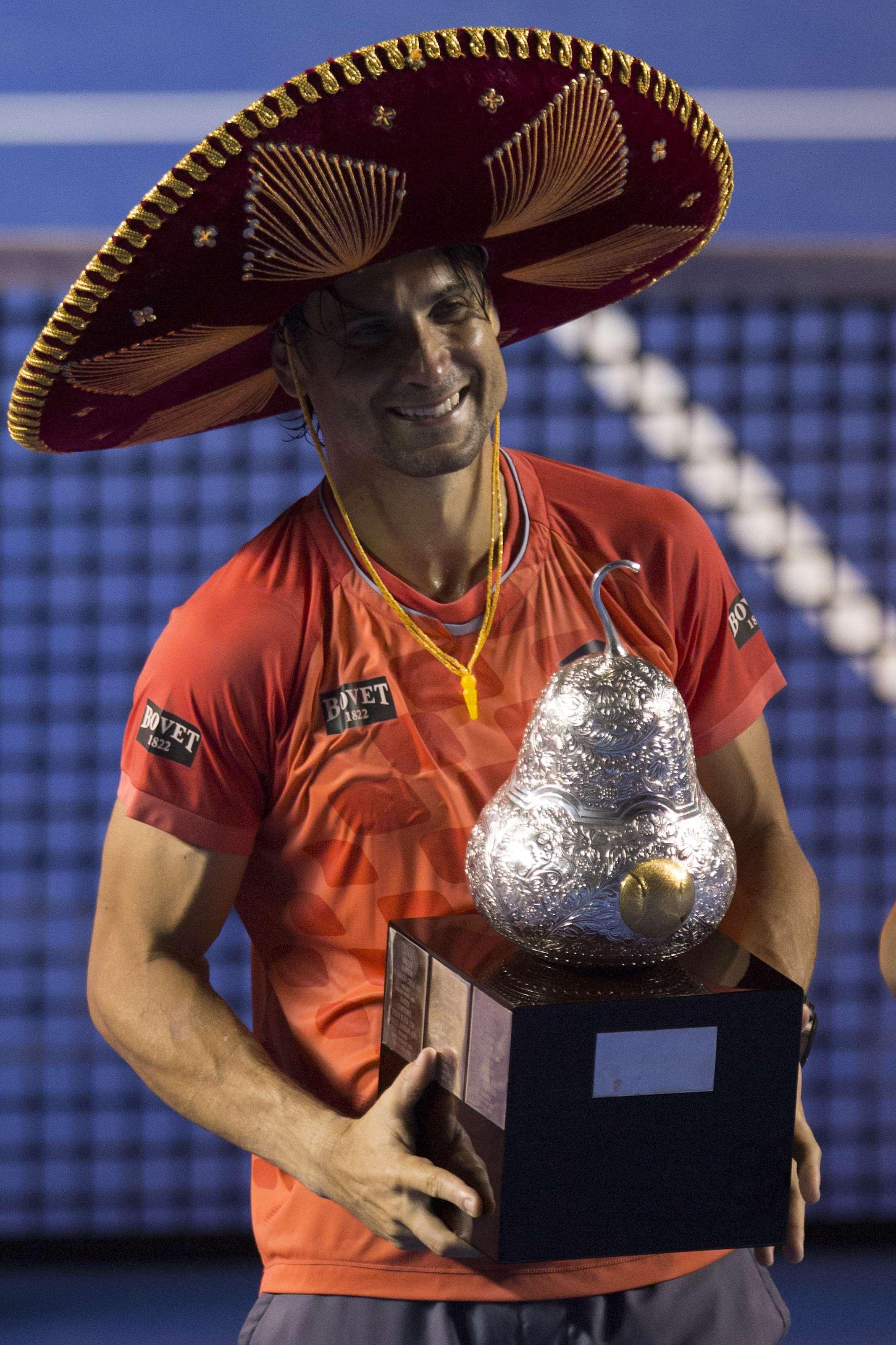 David Ferrer es el campeón. Foto: Getty Images