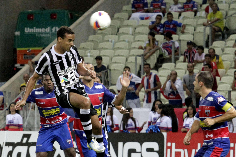 Ceará levou a melhor em clássico Foto: LC Moreira/Futura Press