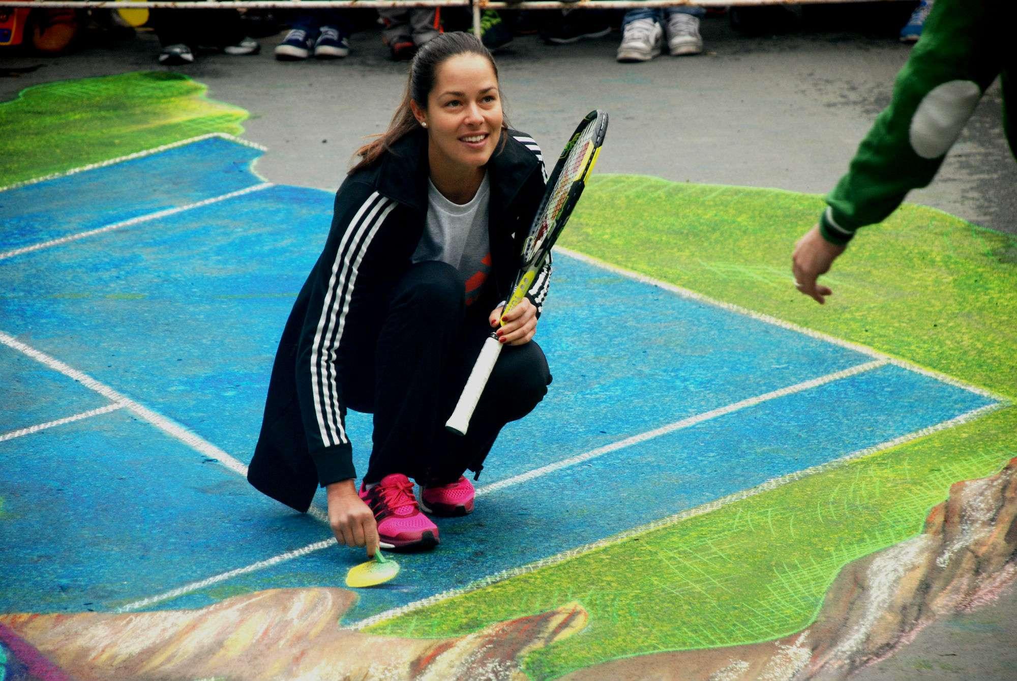 Ana Ivanovic y Jovana Jaksic en el Abierto de Tenis Monterrey 2014 al convivir en el evento de San Pedro de Pinta. Foto: Emilio López/Ter