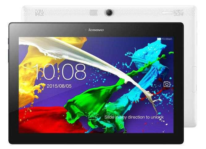 Los tres modelos cuentan con conectividad LTE Foto: Lenovo
