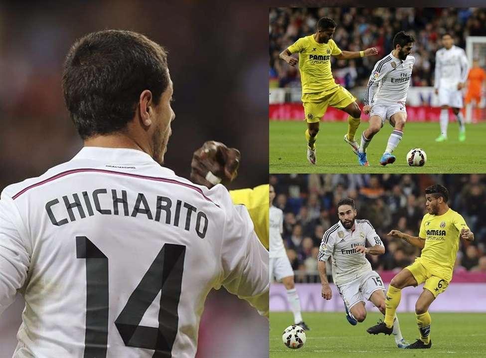 Giovani fue el más destacado de los mexicanos en el Madrid vs. Villarreal. Foto: EFE