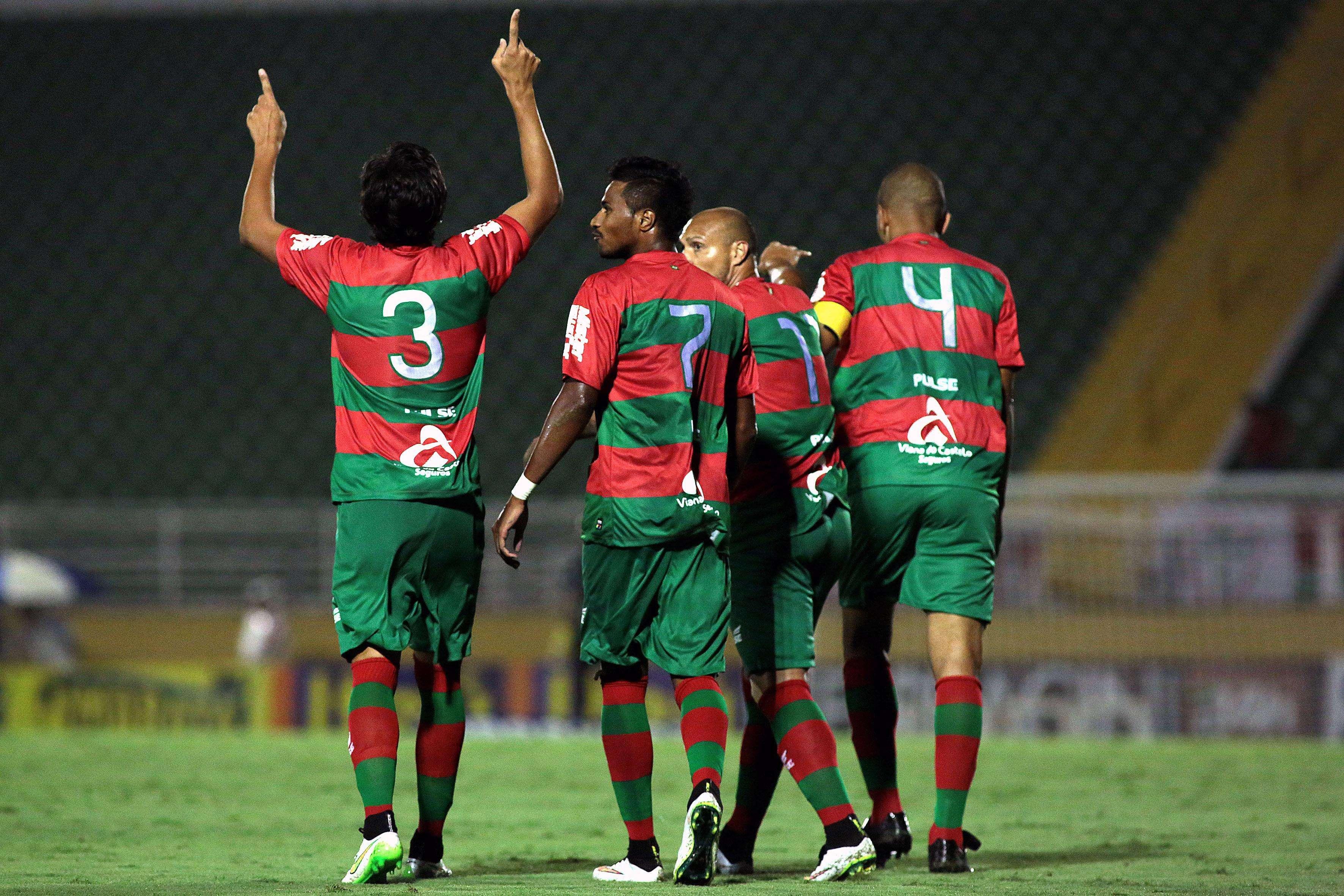 Portuguesa chegou à virada com um golaço aos 43min do segundo tempo Foto: Luís Moura / WPP/Gazeta Press