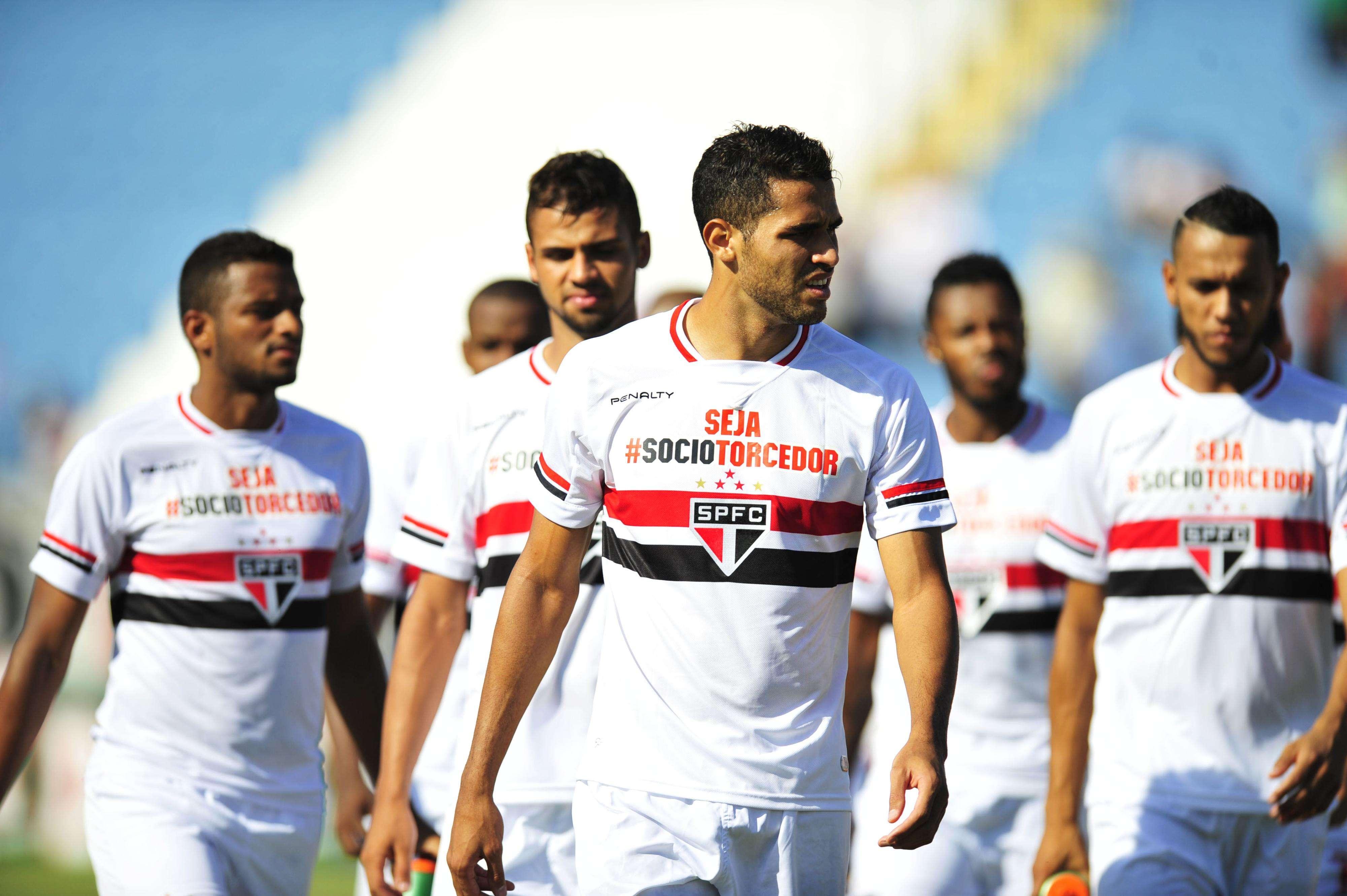 Reservas do São Paulo tiveram chance de mostrar futebol contra o Rio Claro Foto: Helio Suenaga/Futura Press