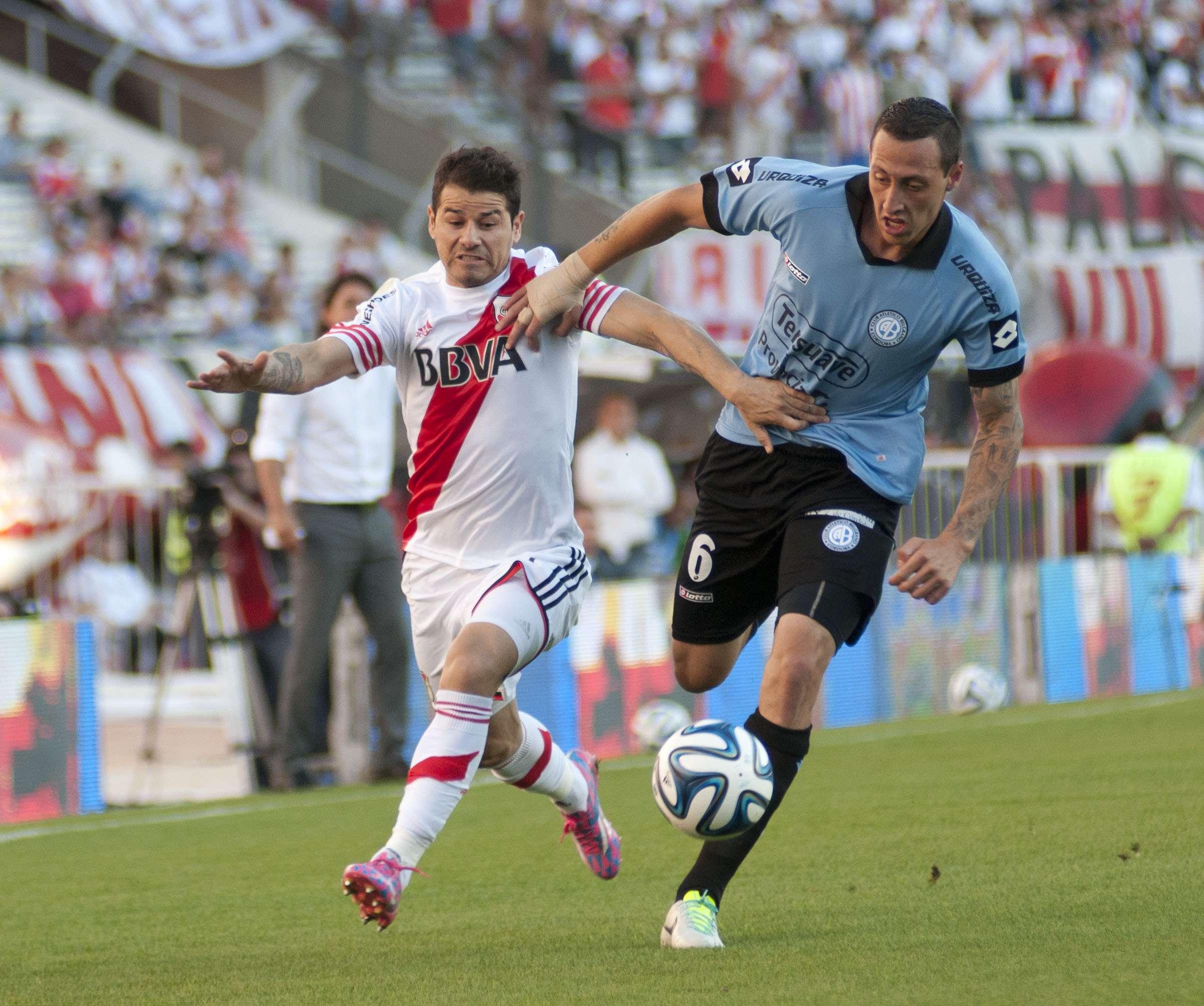 River viene de golear 4 a 1 a Sarmiento de Junín y de empatar 2 a 2 con Quilmes. Foto: NA