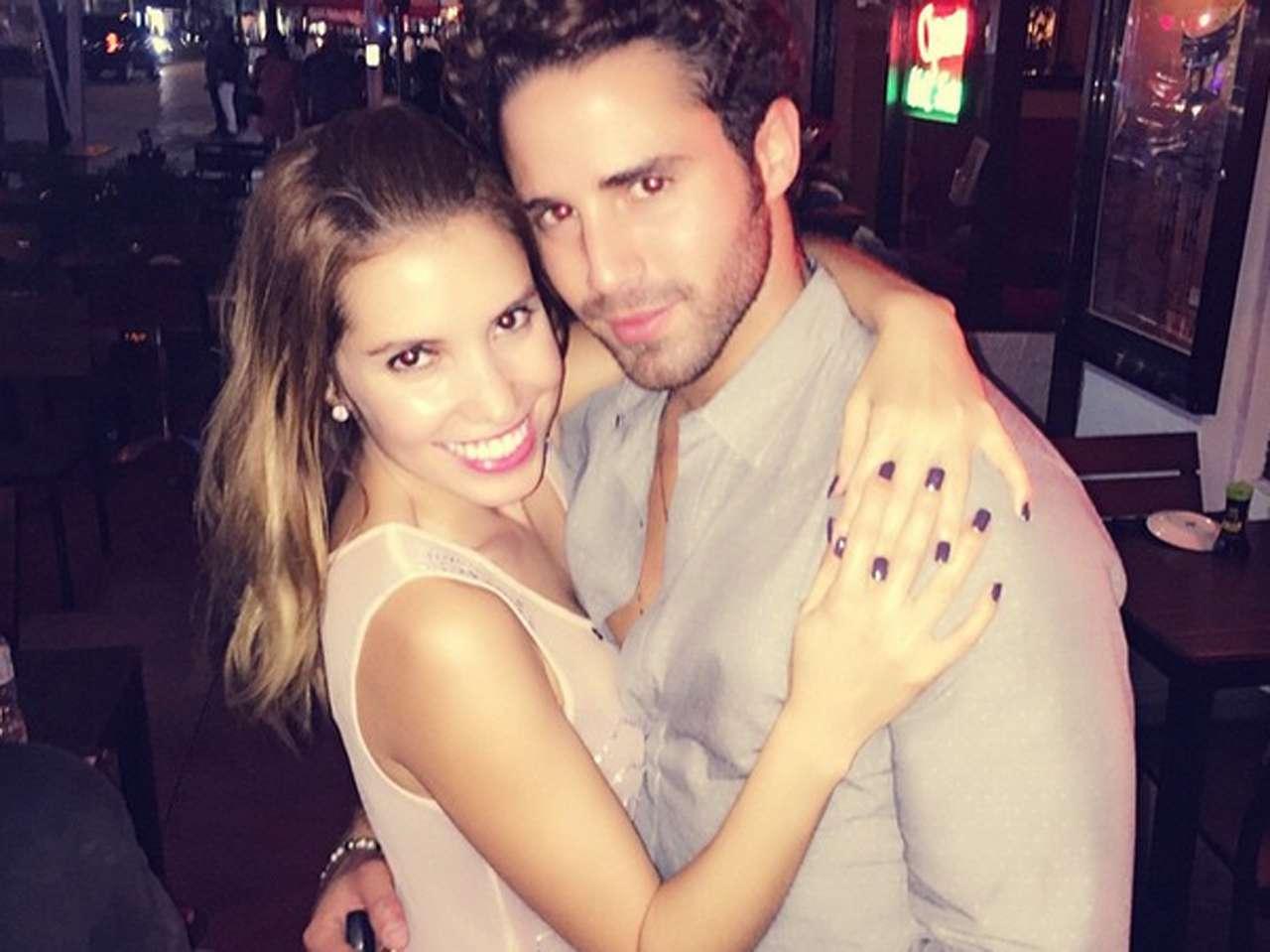 La conductora de televisión Andrea Escalona parece estar muy enamorada del actor Román Cámara. Foto: Instagram.com/andy_escalona