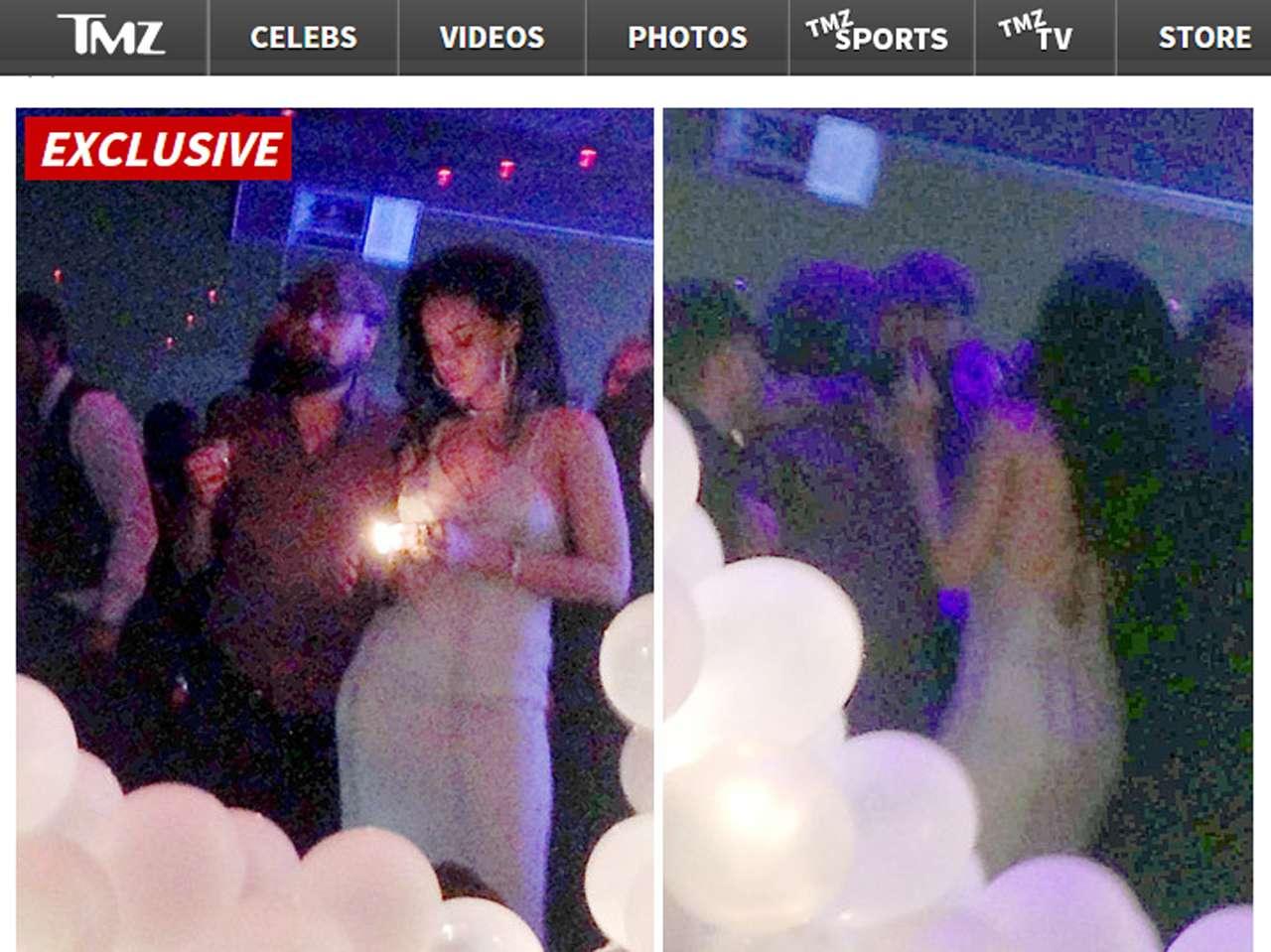 Leonardo DiCaprio organizó la fiesta de cumpleaños de Rihanna. Foto: TMZ