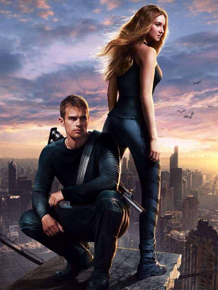 La trilogía 'Divergent' ha vendido más de 30 millones de ejemplares, y la primera película fue protagonizada por Shailene Woodley como la heroína adolescente 'Tris Prior'. Foto:  Summit Entertainment