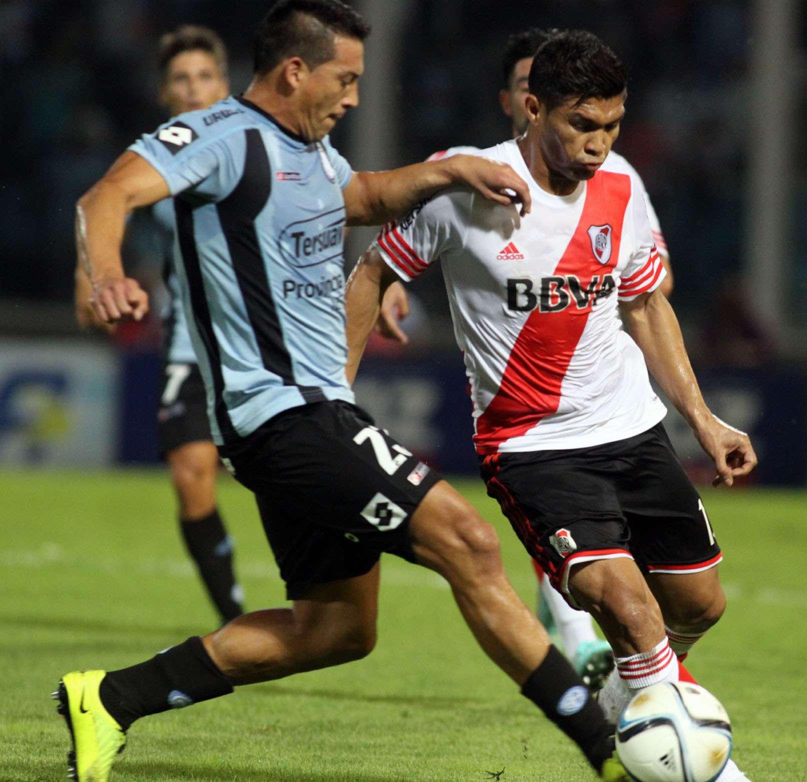 Tras el empate con Quilmes, River retomó el camino de la victoria en Córdoba ante Belgrano. Foto: NA