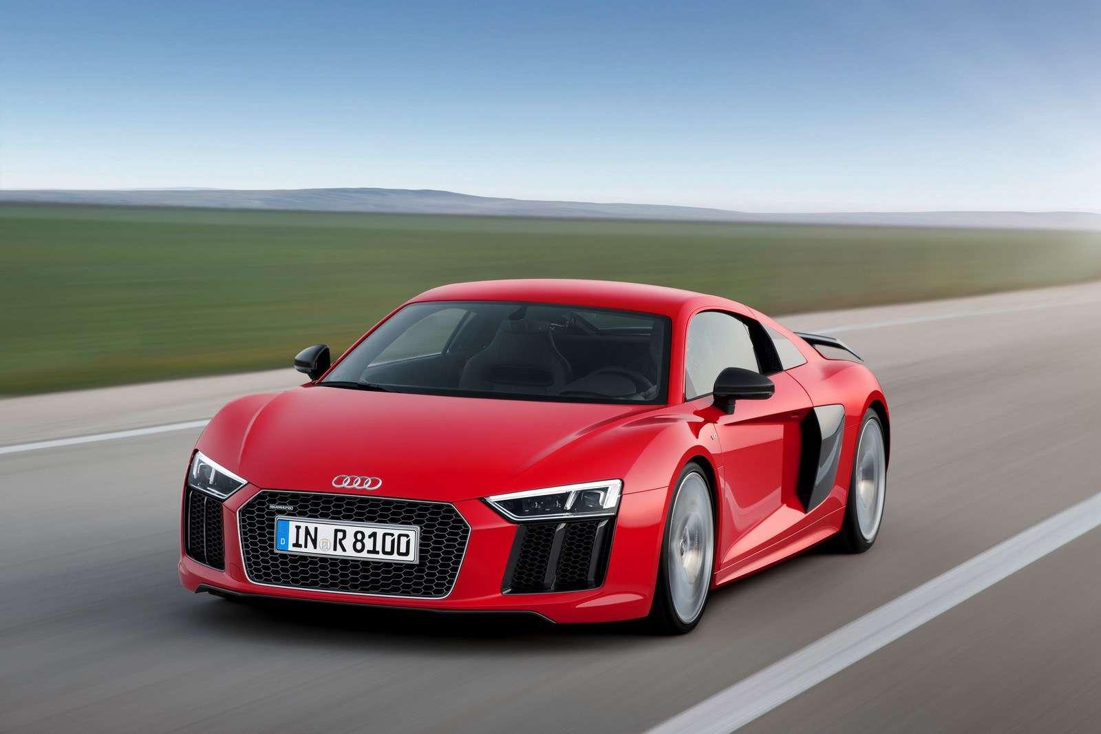 El Audi R8 2016. Foto: Audi