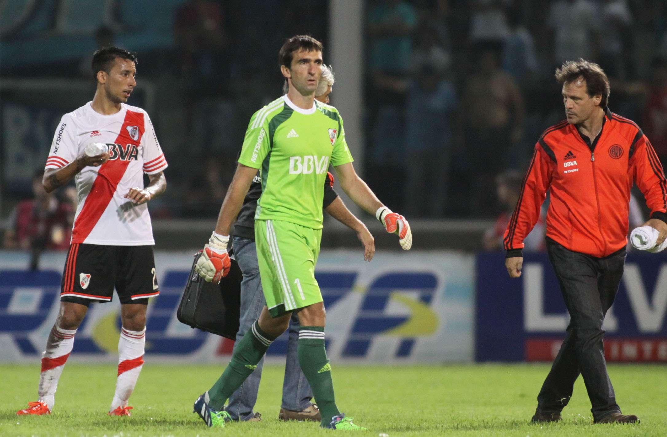 Barovero tuvo que ser reemplazado ante Belgrano. Foto: Noticias Argentinas
