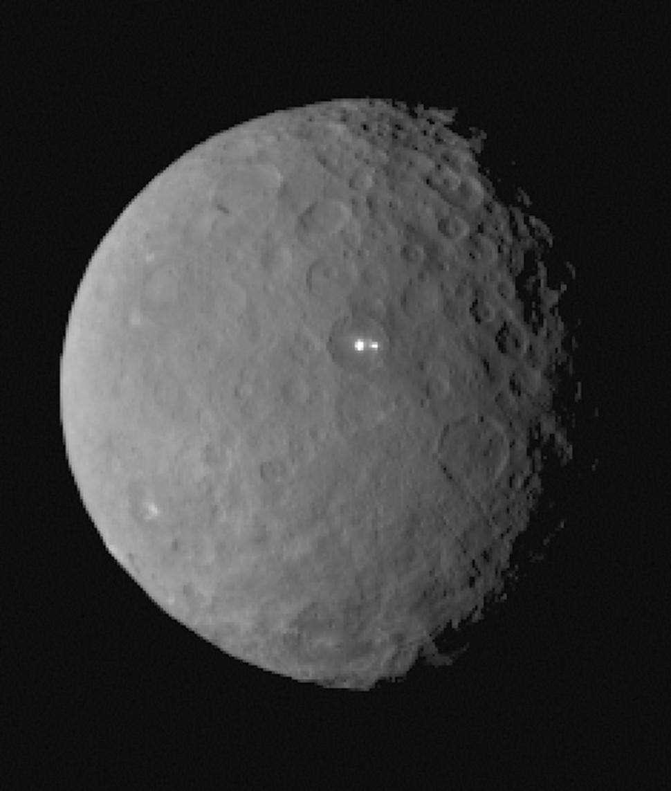 La sonda Dawn continuará su inspección a distancia de Ceres hasta el próximo 6 de marzo. Foto: AFP en español