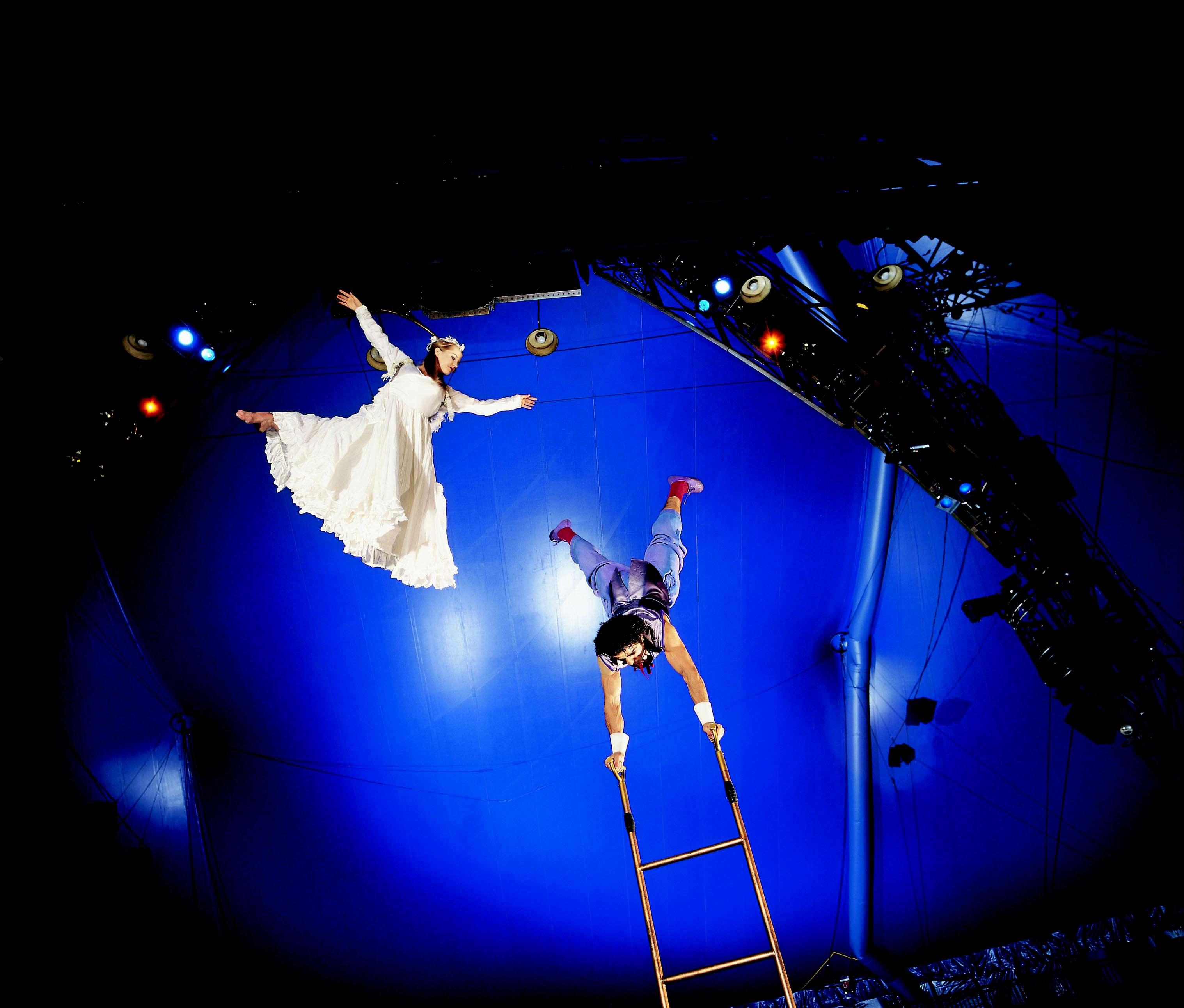 Así se ve Corteo, la obra del Circo del Sol que llegará a Bogotá. Foto: Archivo particular