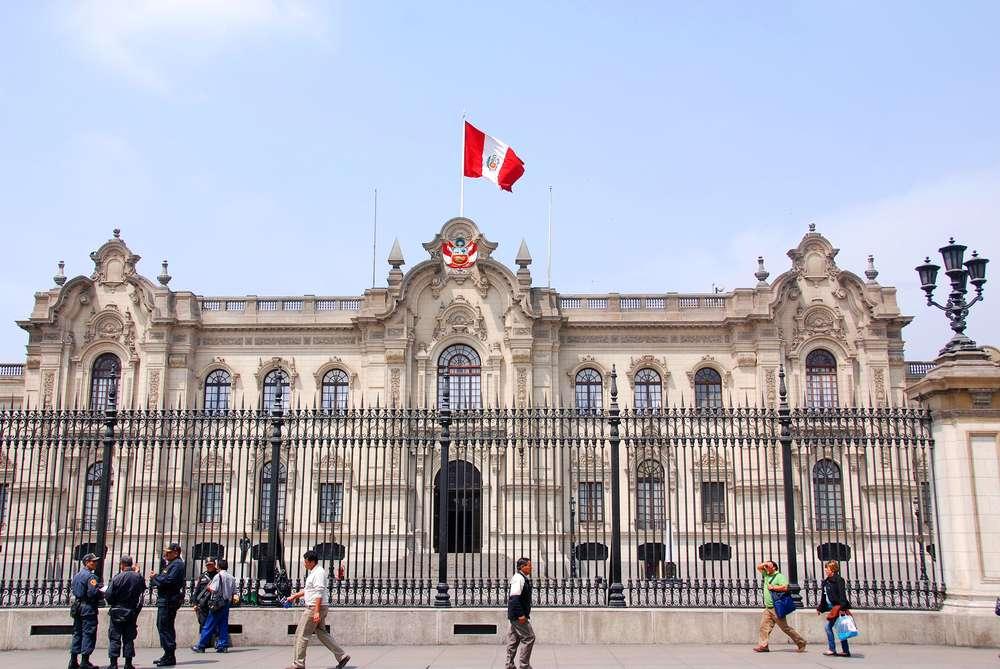 O Palácio do Governo, em Lima, é a residência oficial do presidente do Peru, Ollanta Humala Foto: meunierd/Shutterstock