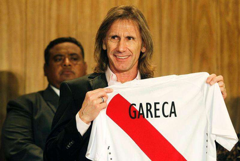 Técnico argentino Ricardo Gareca é apresentado como novo técnico do Peru. 02/03/2015 Foto: Enrique Castro-Mendivil/Reuters