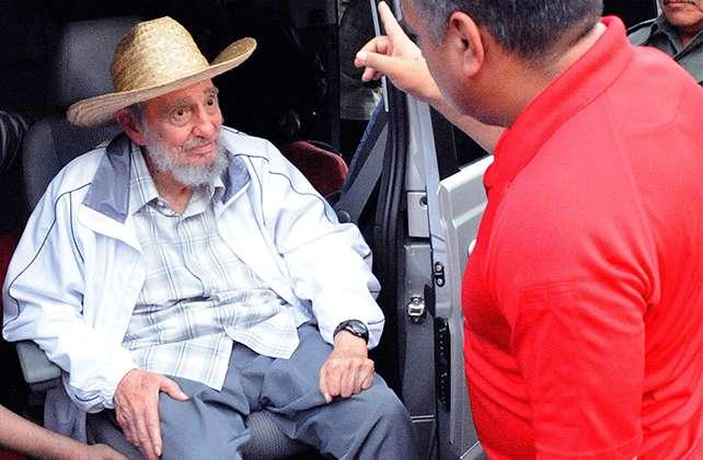 El ex presidente Fidel Castro en foto de archivo de junio del 2013. Foto: AP en español