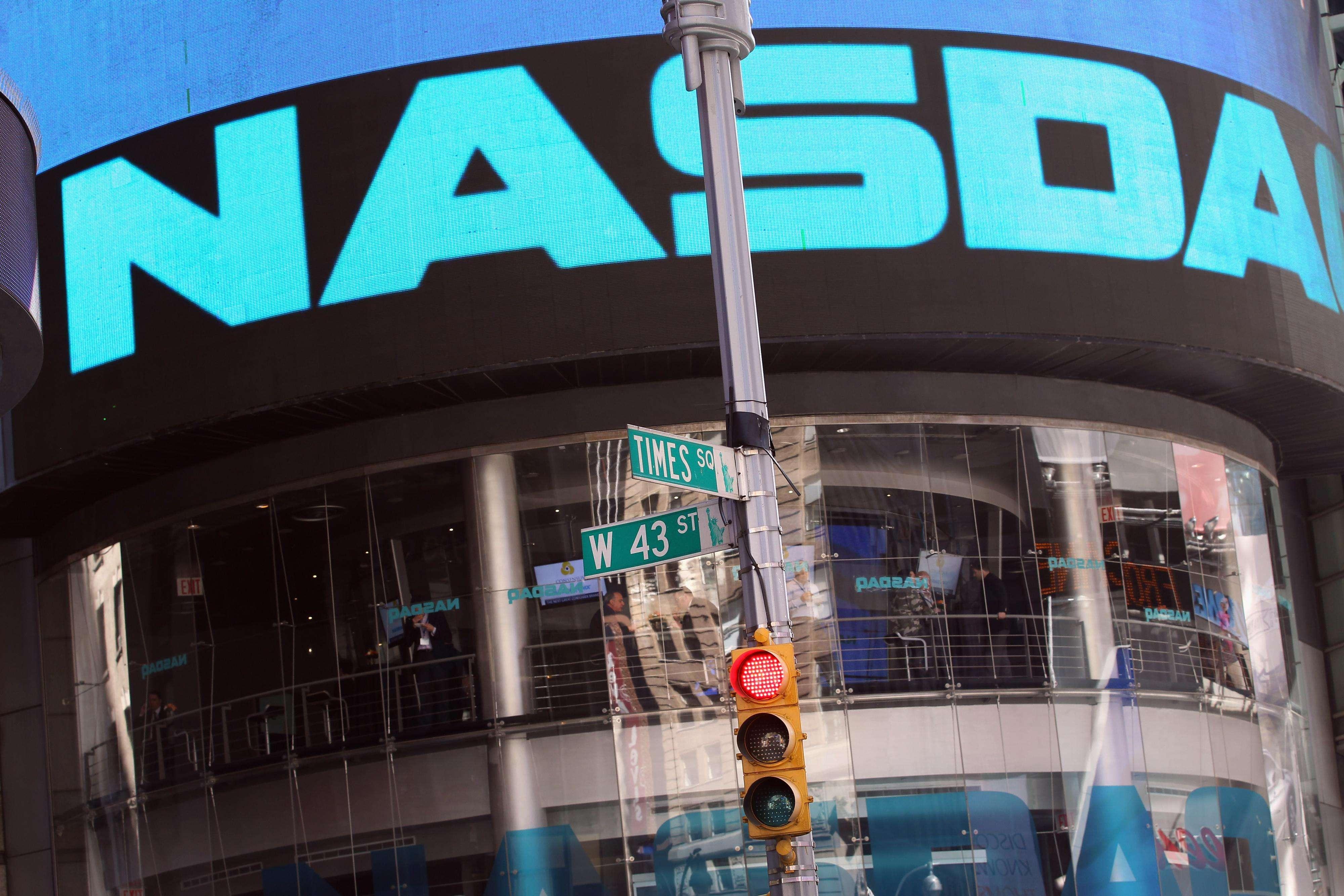 El índice Nasdaq ahora está dominado por grupos como Apple, capaces de generar beneficios muy elevados. Foto: Getty Images