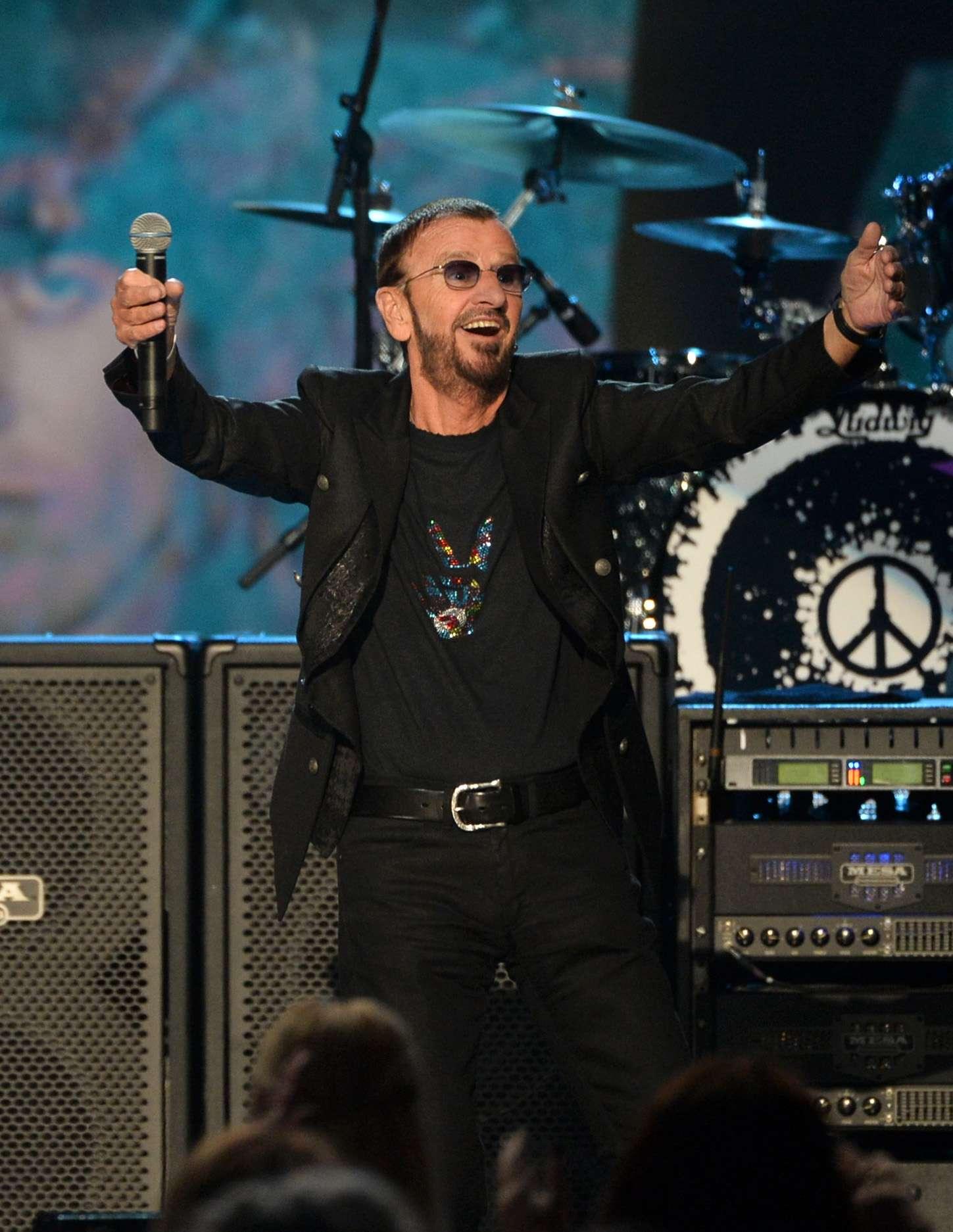 Más de 50.000 personas colmaron el Planetario y otras 30.000 en los alrededores disfrutaron del Movistar Free Music con Ringo Starr. Foto: Getty