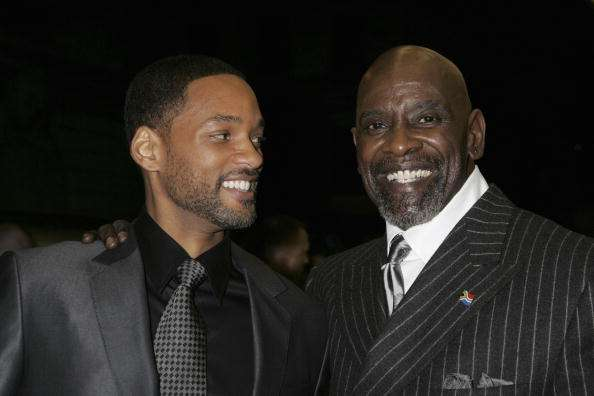 Will Smith y Chris Gardner. Foto: Getty Images