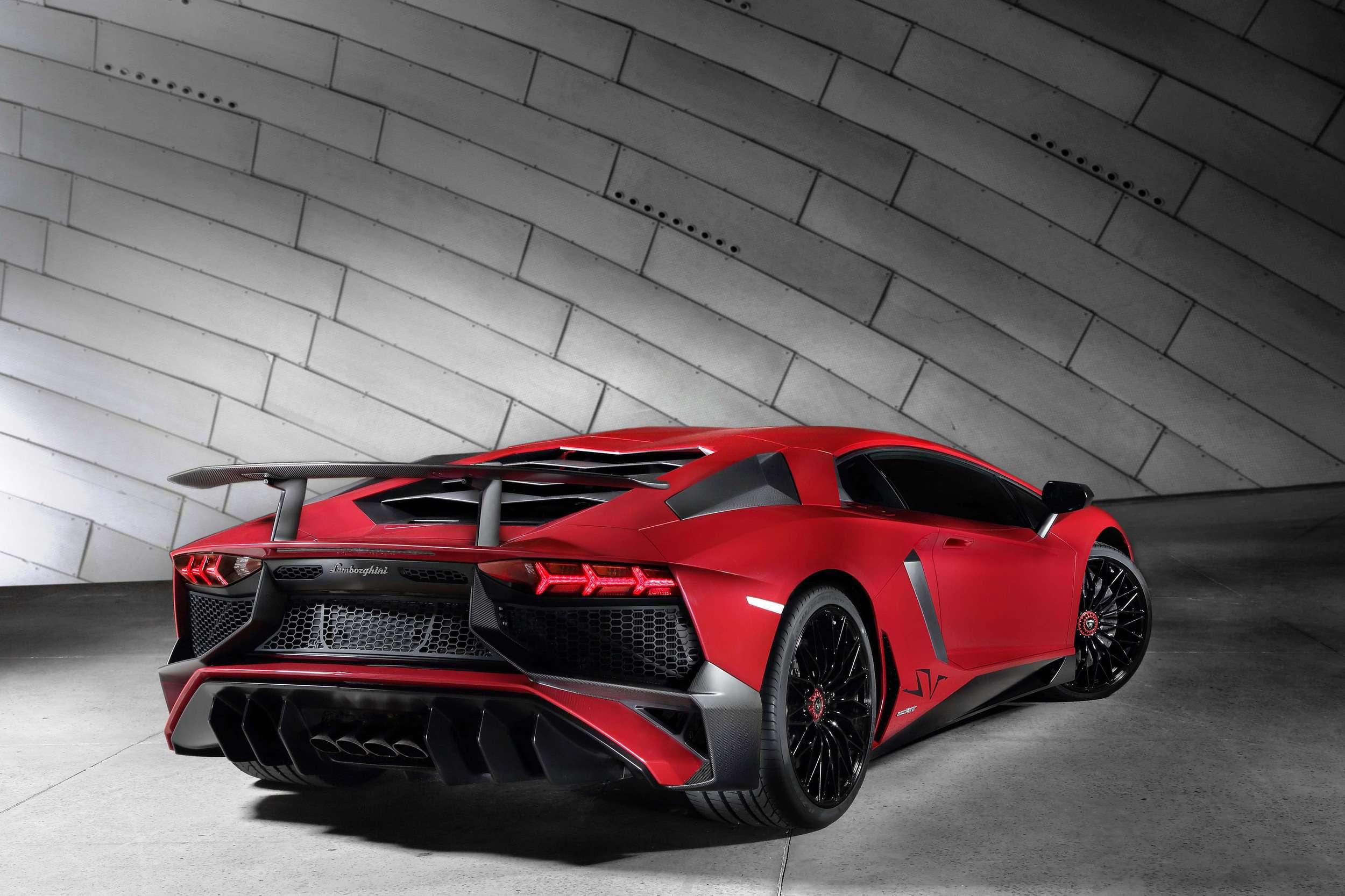 Lamborghini Aventador SV Foto: Lamborghini