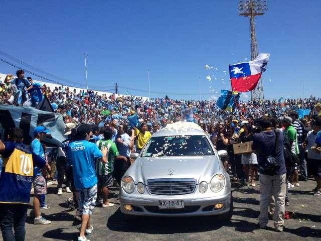 El trágico accidente enlutó a todo el fútbol chileno. Foto: Archivo TERRA