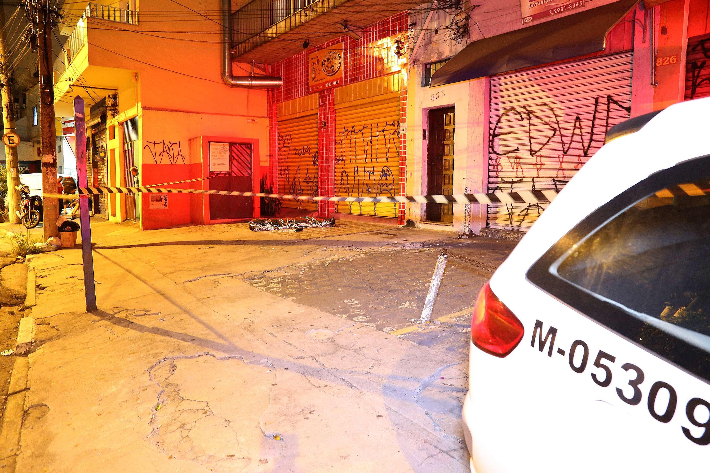 Homem foi morto após uma tentativa de assalto, segundo a PM Foto: Edison Temóteo/Futura Press