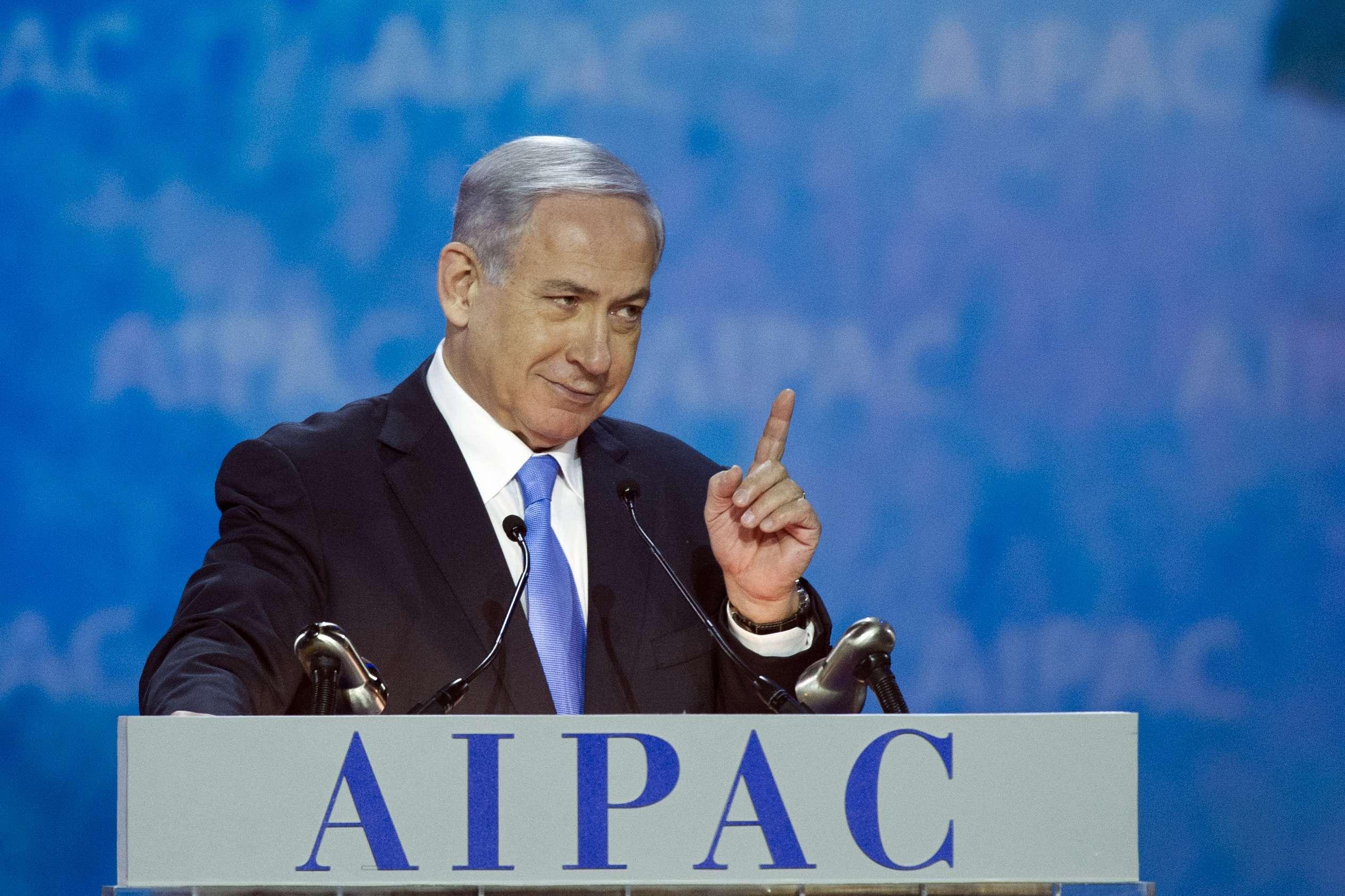 En la imagen, el primer ministro israelí, Benjamin Netanyahu, en una conferencia en Washington, el 2 de marzo de 2015. Foto: AP en español