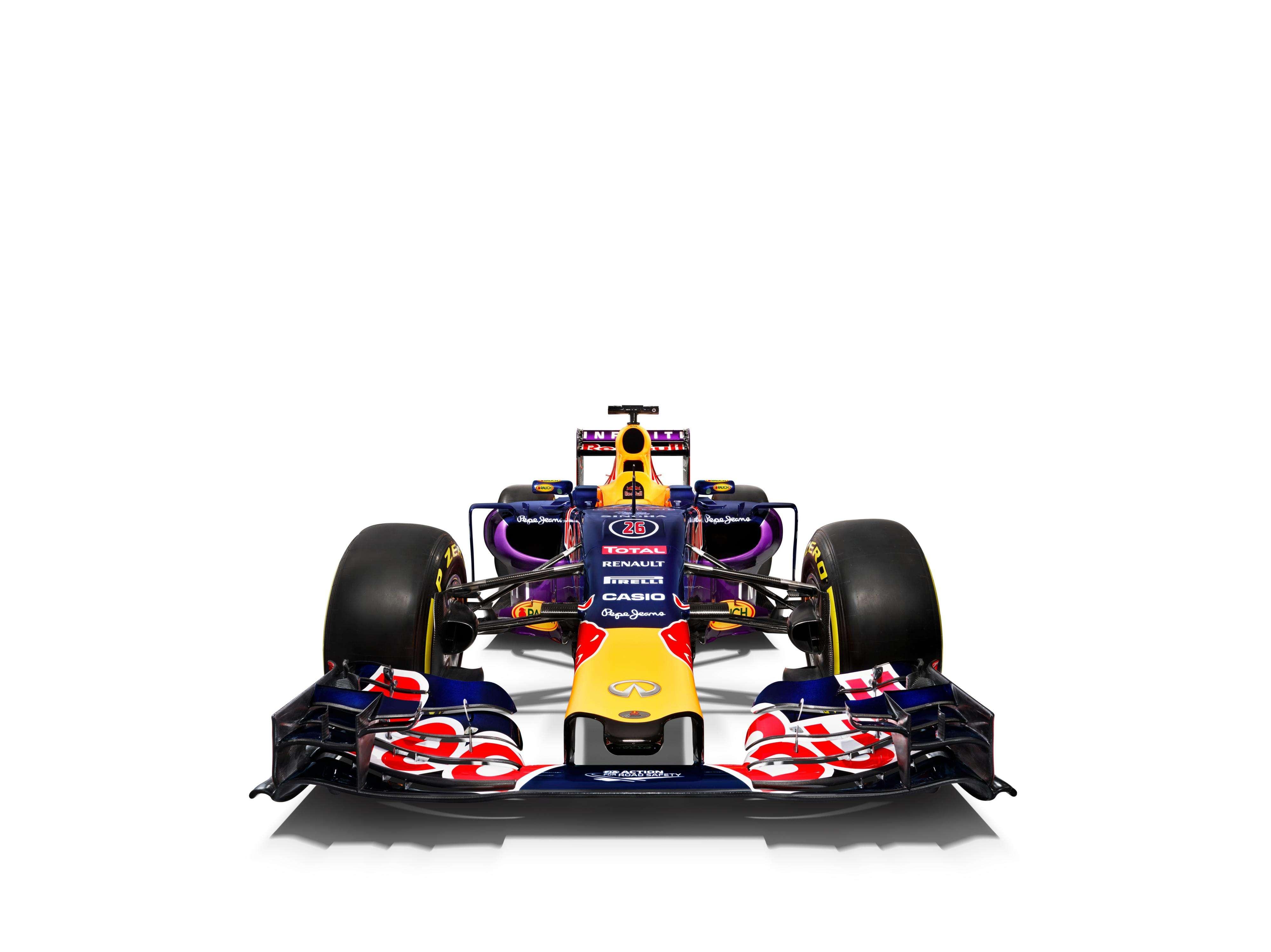 Red Bull apresenta seu carro para a temporada Foto: Red Bull/Divulgação