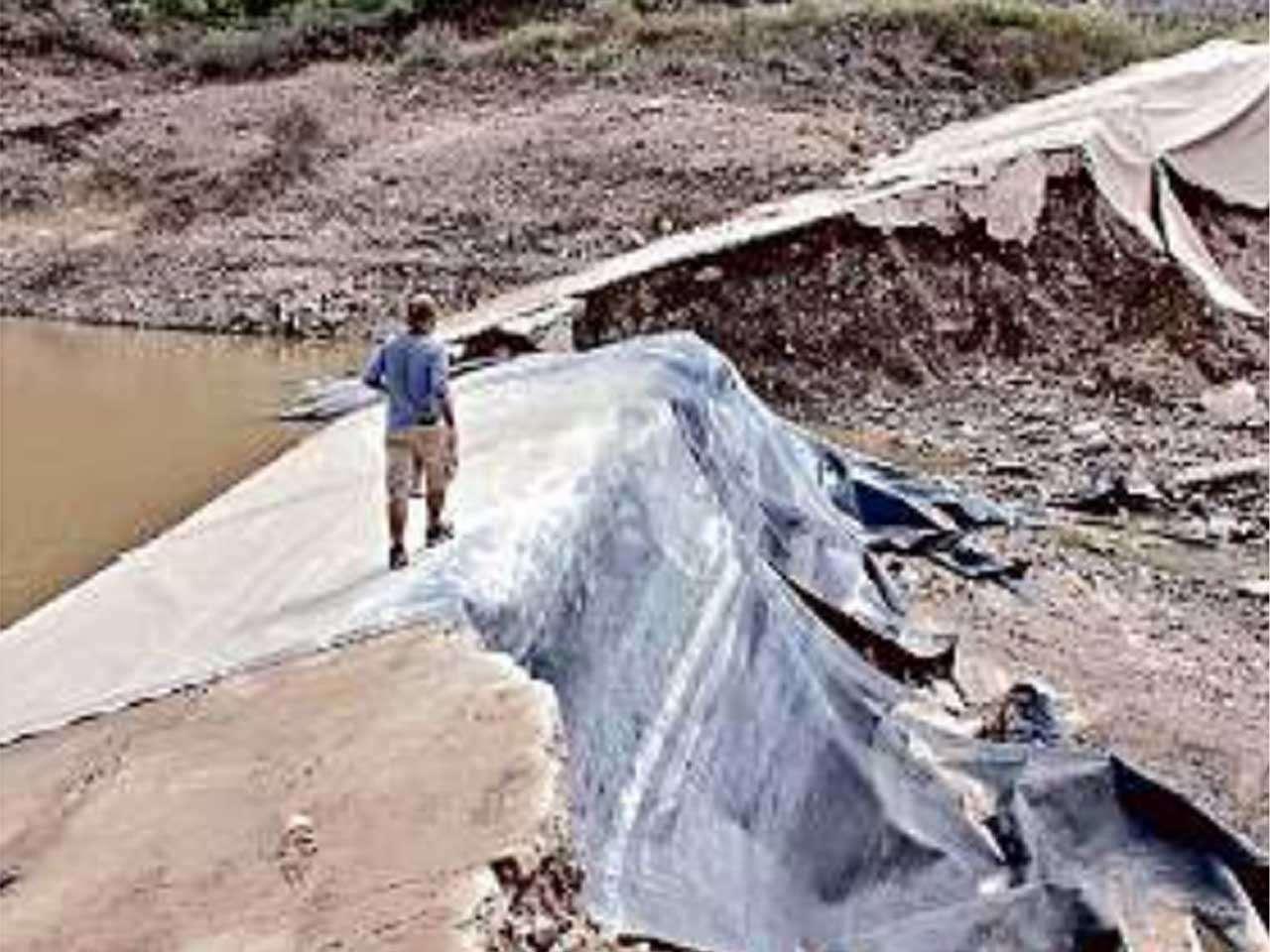 Conagua resolvió que la presa en el rancho del gobernador de Sonora, Guillermo Padrés es ilegal. Foto: Reforma