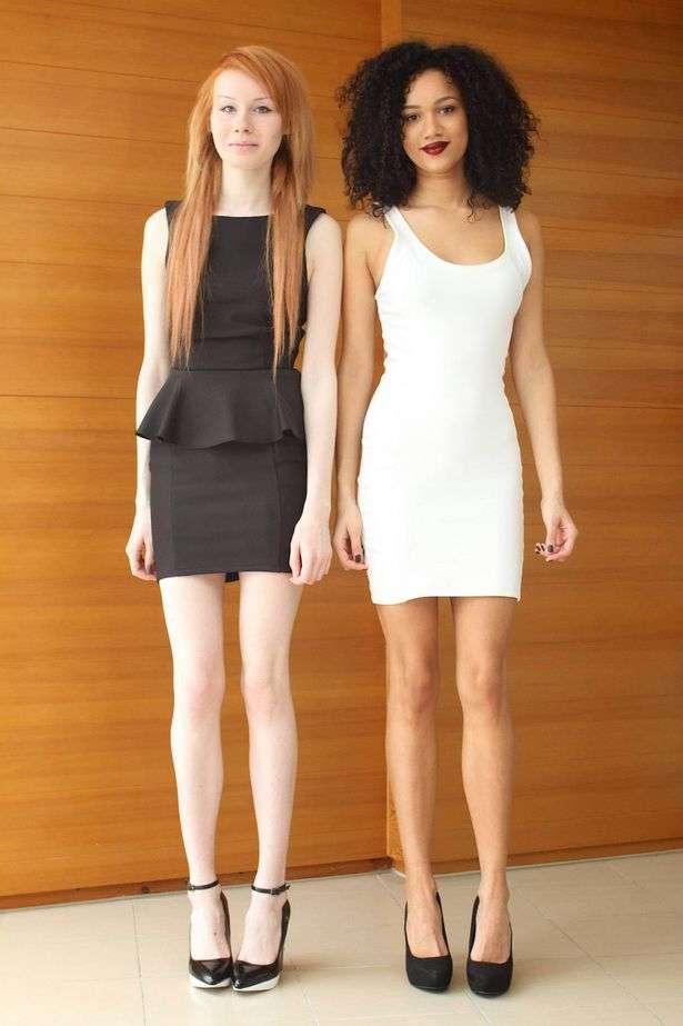 """As irmãs gêmeas Maria e Lucy, de Gloucester: """"não poderíamos ser mais diferentes"""" Foto: The Mirror/Reprodução"""