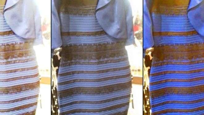 Vestido que 'muda de cor' virou febre nas redes sociais Foto: BBCBrasil.com