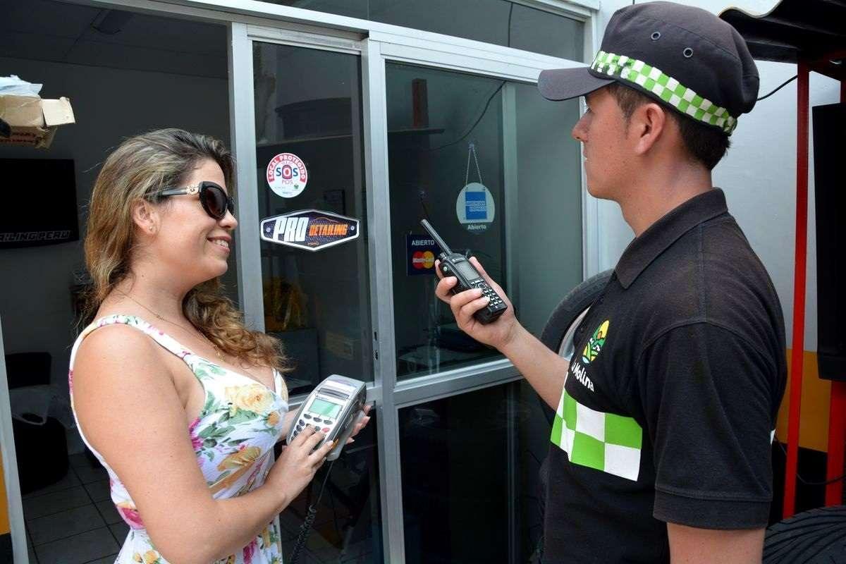 El nuevo sistema de vigilancia municipal es posible gracias a la firma de un convenio de cooperación con la empresa Voxiva-Advais y Visanet Foto: La Molina