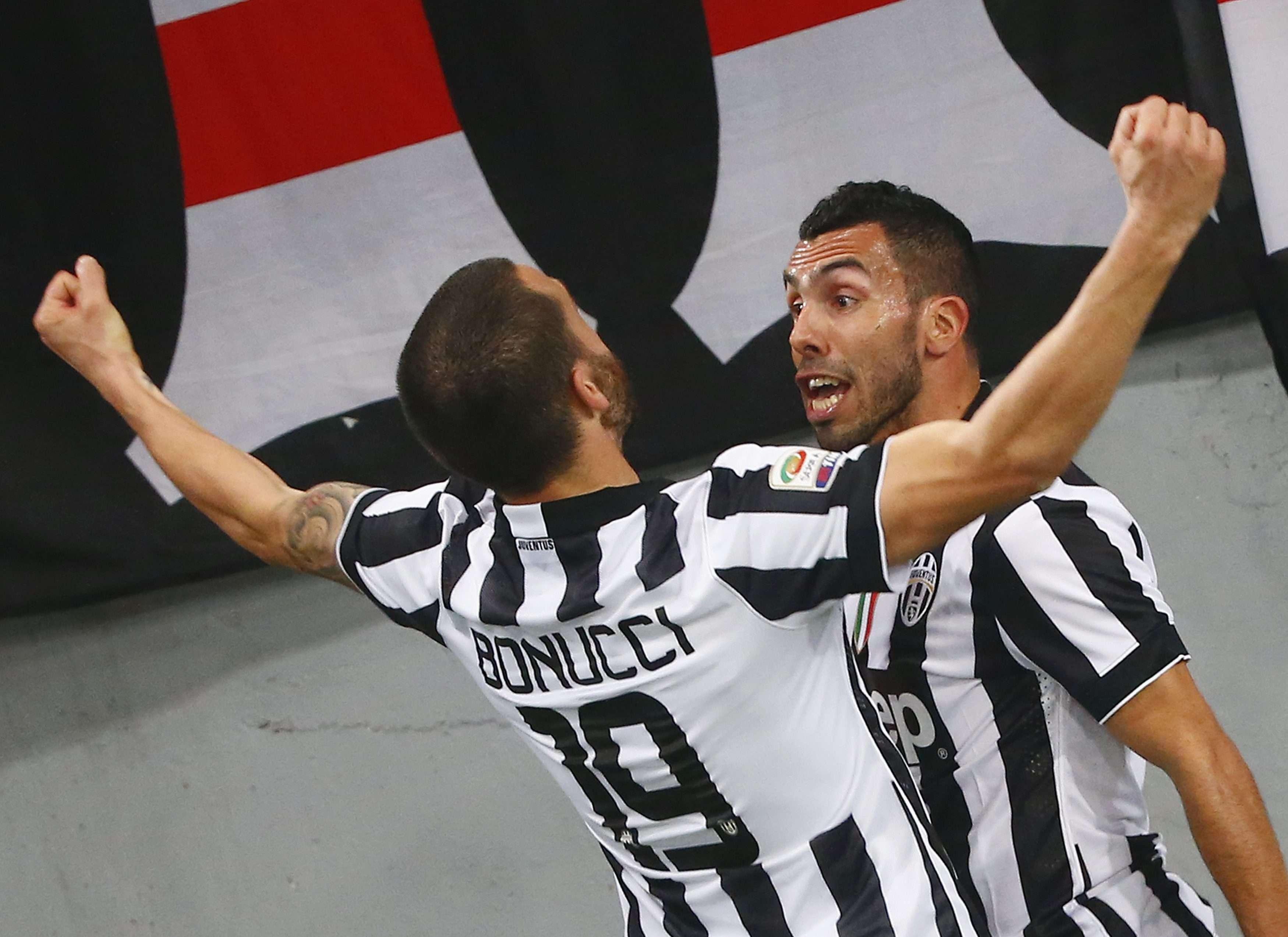 Tevez abriu o placar para a Juventus Foto: Tony Gentile/Reuters
