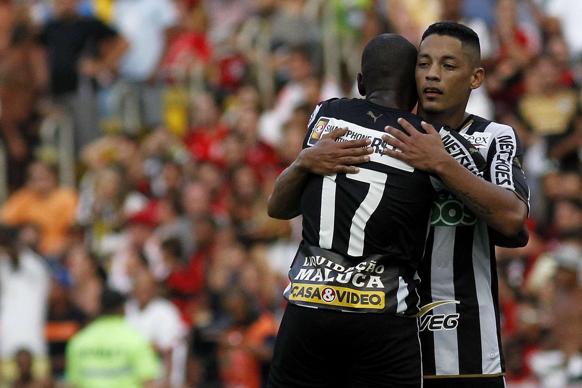 Tomas Bastos decidiu o clássico entre Botafogo e Flamengo Foto: Vitor Silva/SS Press/Divulgação