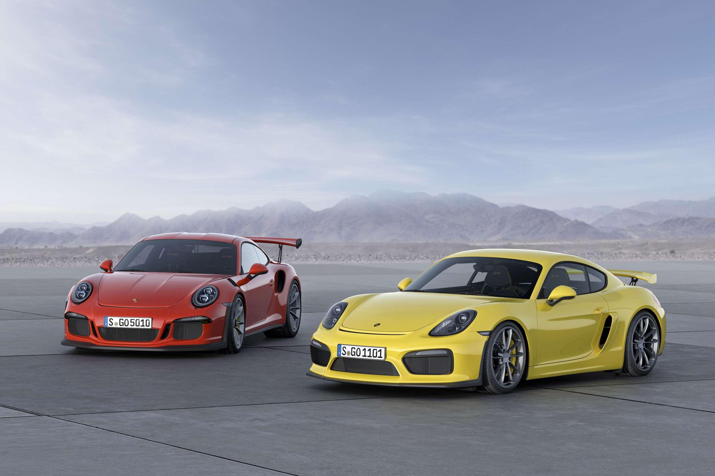 Salón del Automóvil de Ginebra 2015: el Porsche 911 GT3 RS 2016. Foto: Porsche