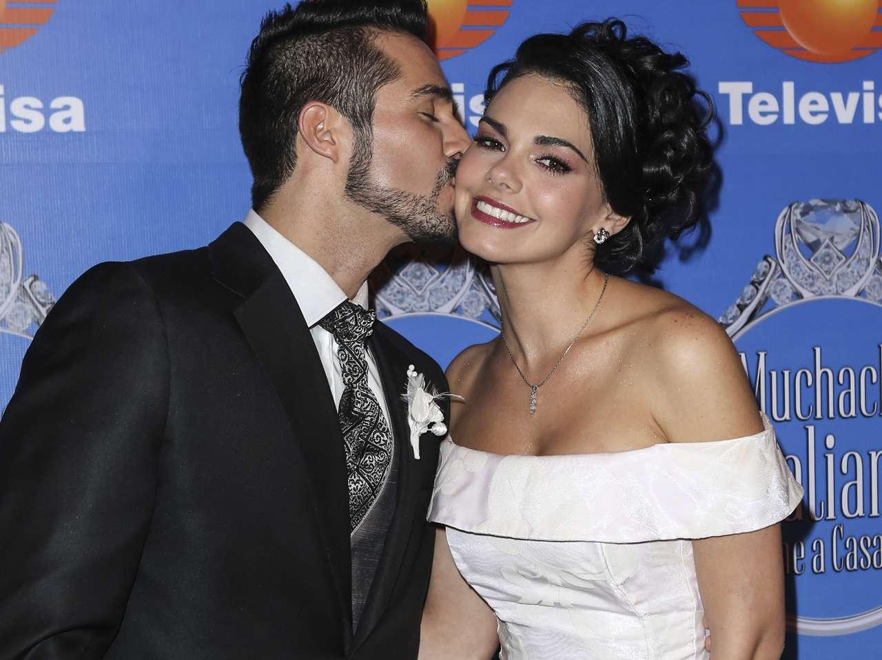 Livia Brito y José Ron. Foto: Medios y Media