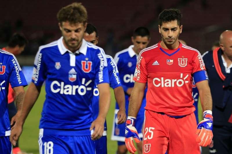 Herrera fue el único en dar la cara tras la derrota. Foto: Photosport
