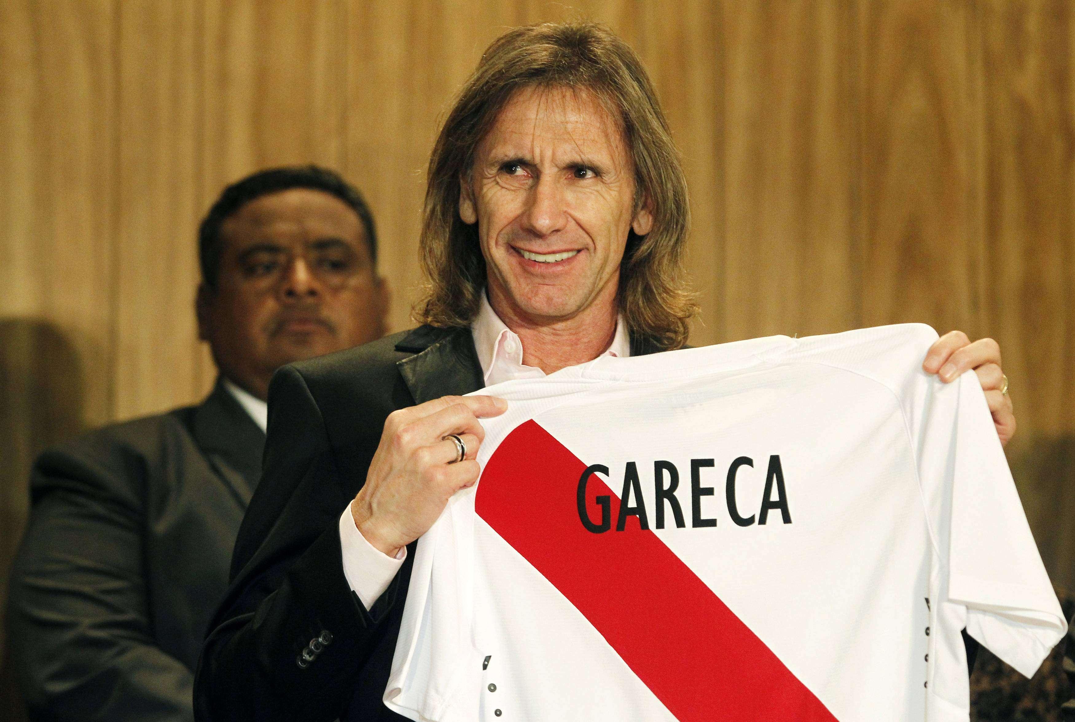 Ricardo Gareca dirigirá a Perú en la Copa que se juega en Chile. Foto: Reuters en español
