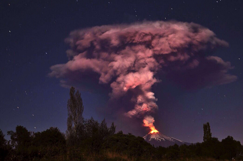 Chile: volcán Villarrica entra en erupción y hay evacuados Foto: EFE