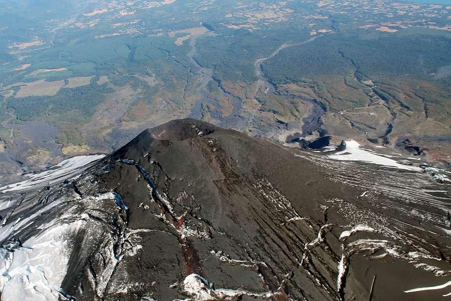 La actividad del volcán ha bajado ostensiblemente. Foto: Agencia UNO