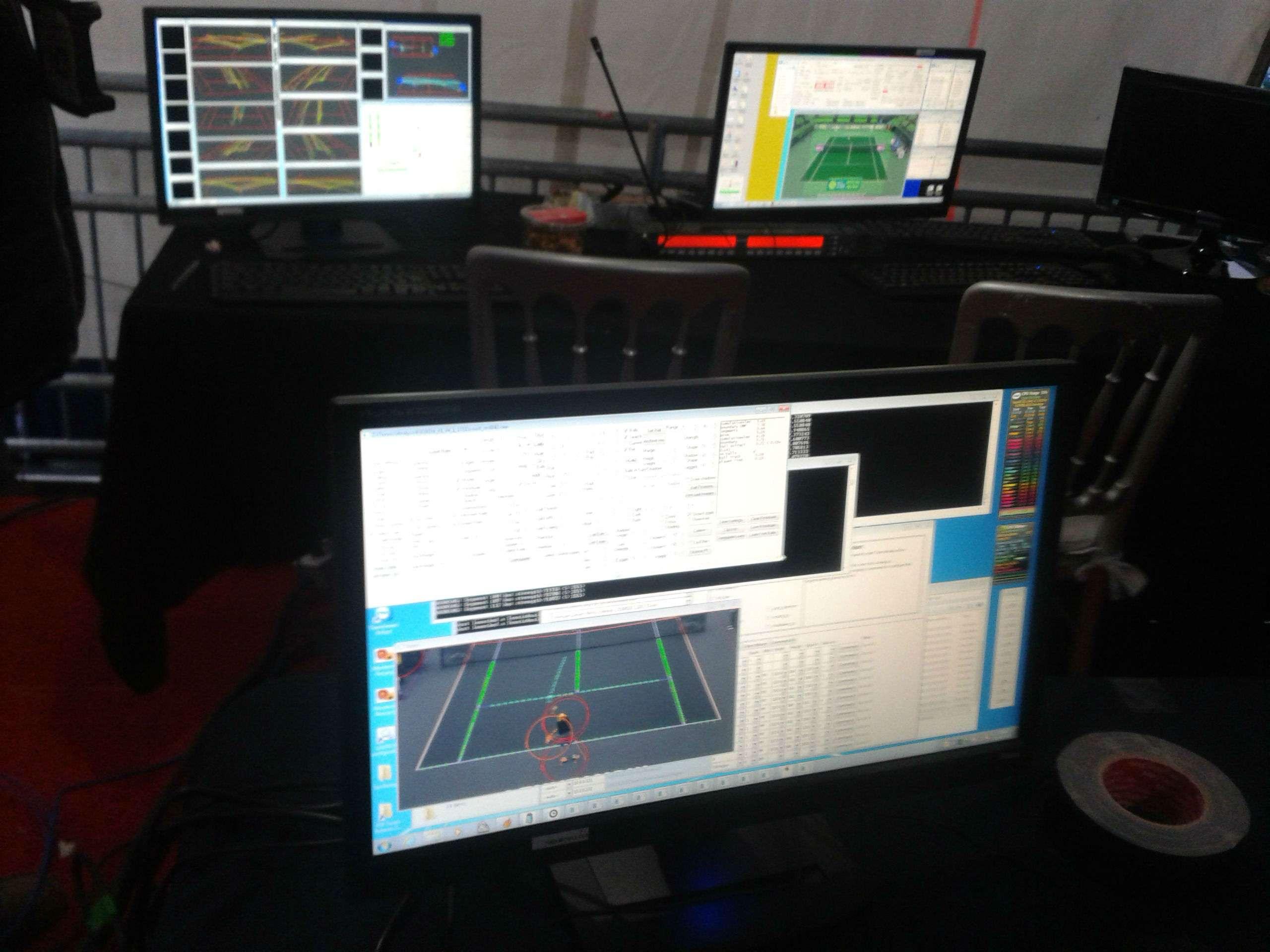 El sistema Ojo de Halcón será usado por primera vez en el Abierto de Tenis Monterrey. Foto: Terra