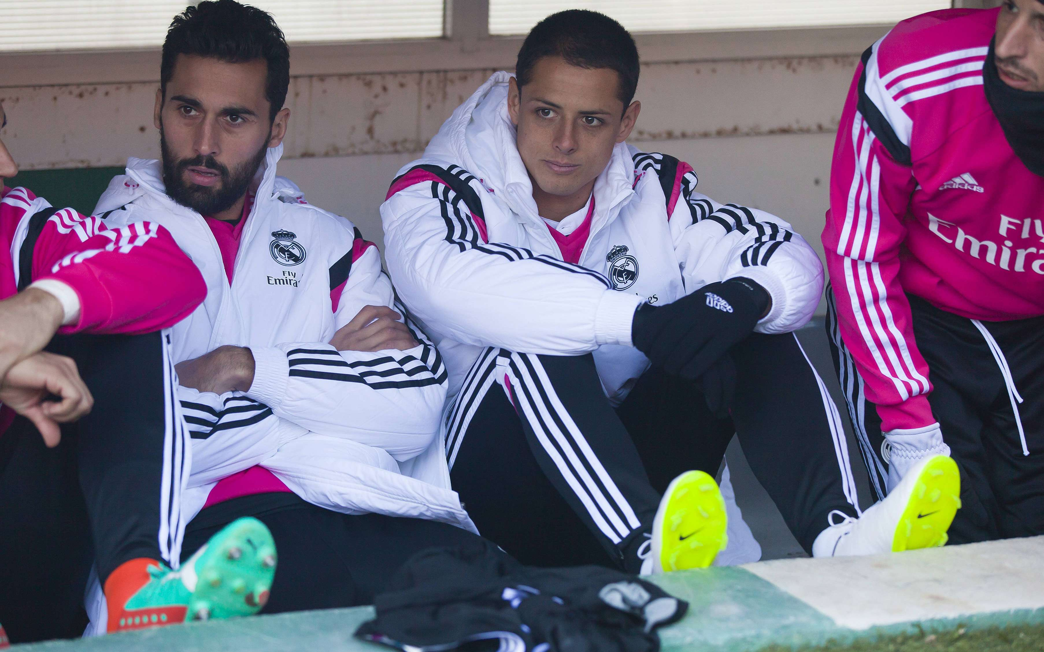 Javier Hernández suma 199 minutos jugados con Real Madrid en la temporada 2014-2015 de La Liga española. Foto: Mexsport