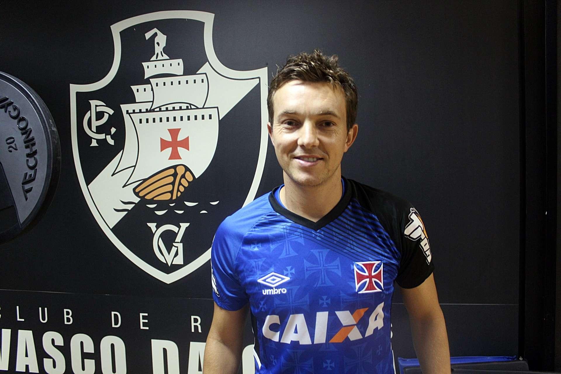Dagoberto é reforço do Vasco Foto: Matheus Alves/Vasco/Divulgação