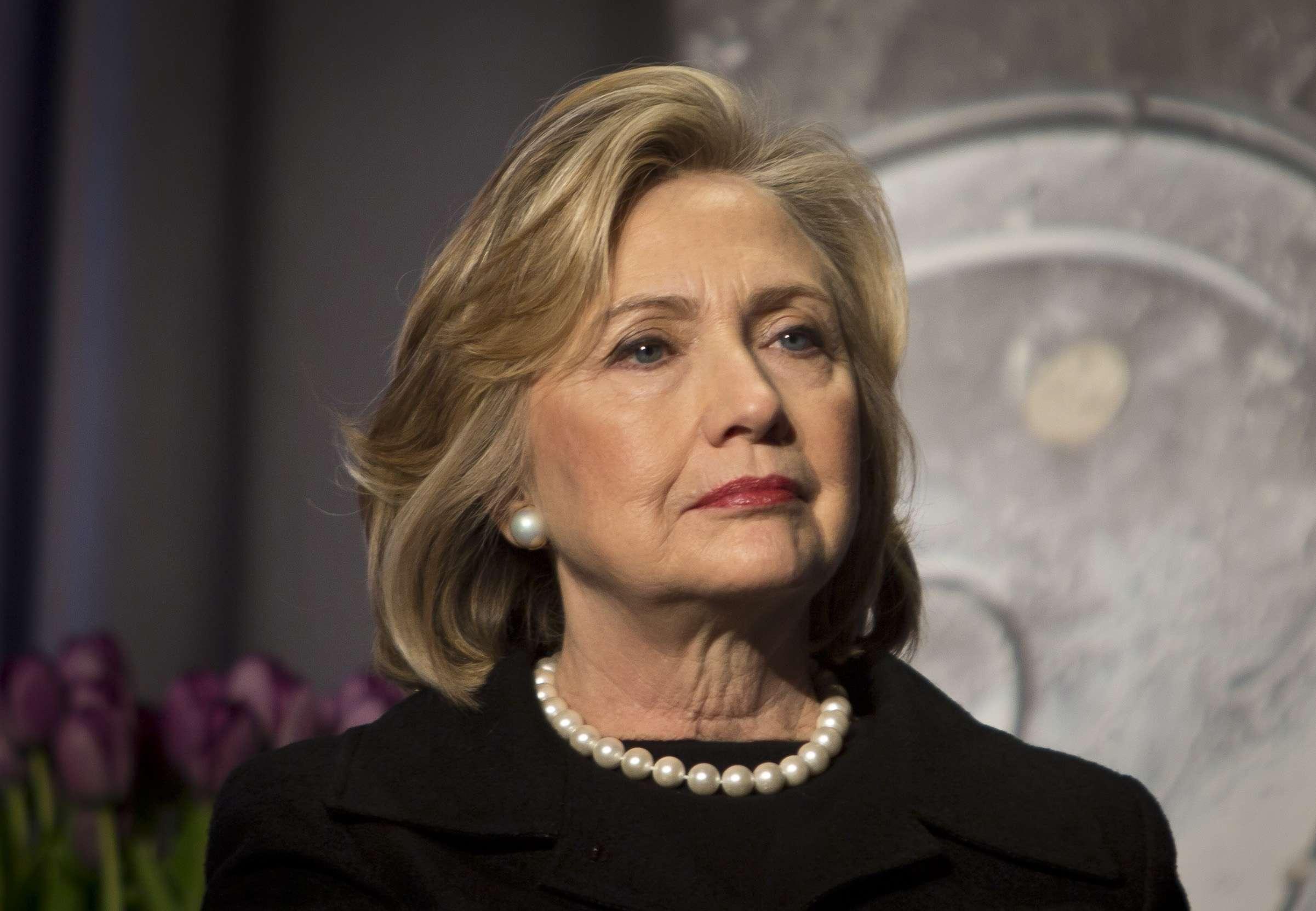 La demócrata Hillary Clinton se perfila como posible candidata presidencial de EU. Foto: AP en español