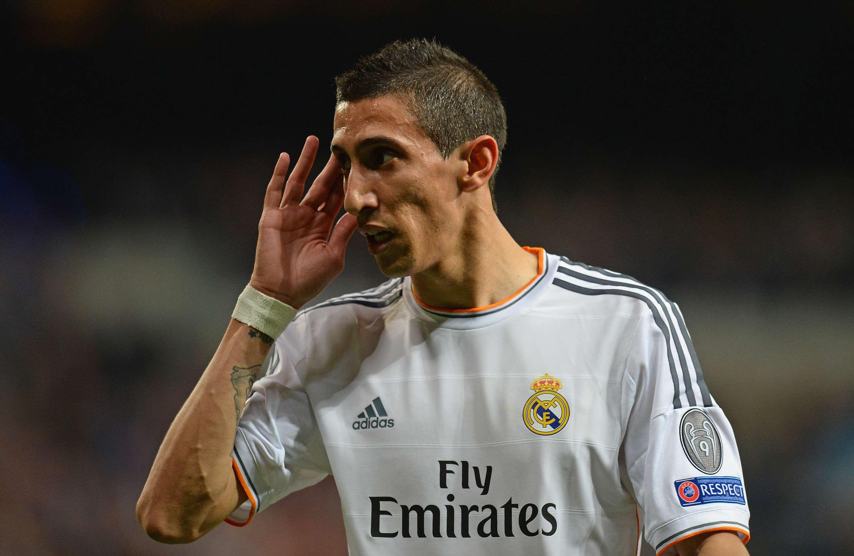Di Maria ficou no Real Madrid por quatro anos apesar de Rexach dizer que feios não têm vez no clube Foto: Mike Hewitt/Getty Images