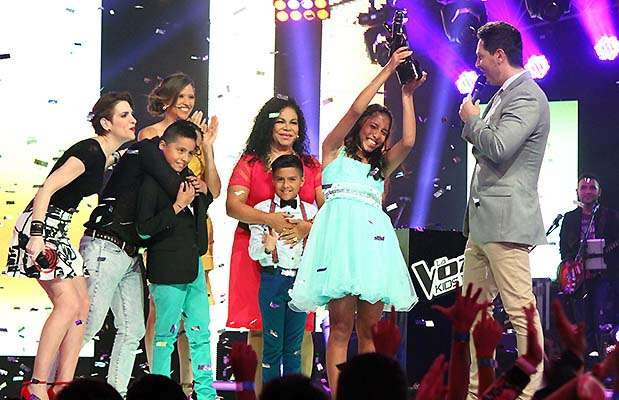 """Sofía Hernández ganó la segunda temporada de """"La voz kids"""". Foto: Difusión Latina"""