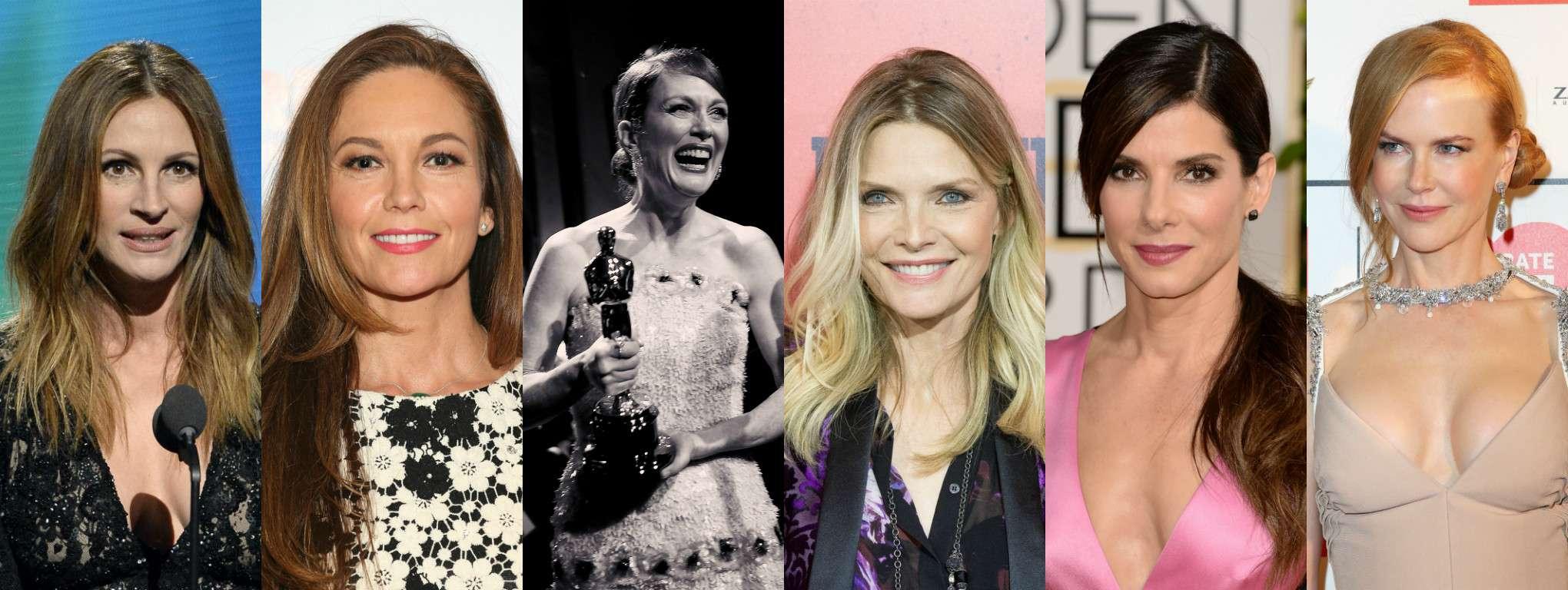 Julia Roberts, Diane Lane, Michelle Pfeiffer, Sandra Bullock e Nicole Kidman recusaram papel que deu Oscar a Julianne Moore Foto: Getty Images