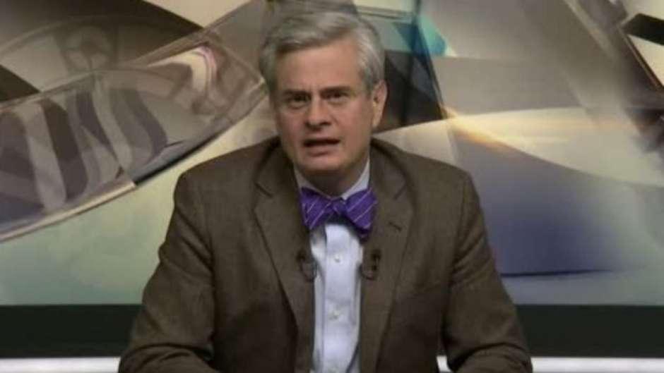 Leopoldo Gómez González es vicepresidente de Noticieros de Grupo Televisa y encabezaba el programa televisivo de análisis político, Tercer Grado. Foto: YouTube