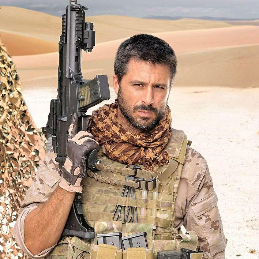 Hugo Silva, en 'Los nuestros' Foto: Mediaset